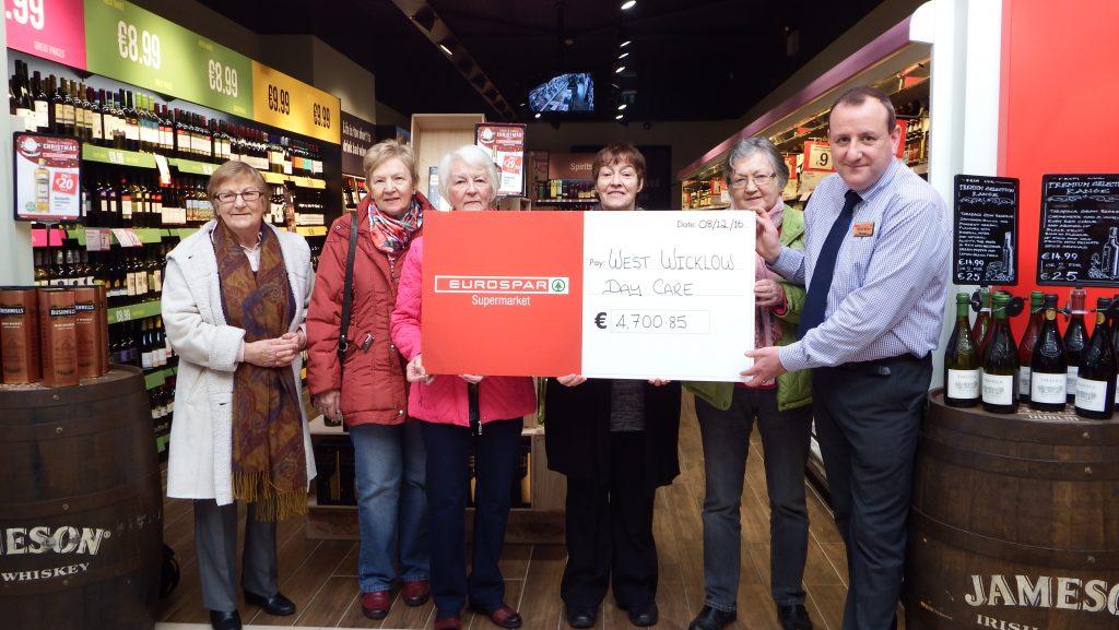 eurospar baltinglass quinn's charity west wicklow day care