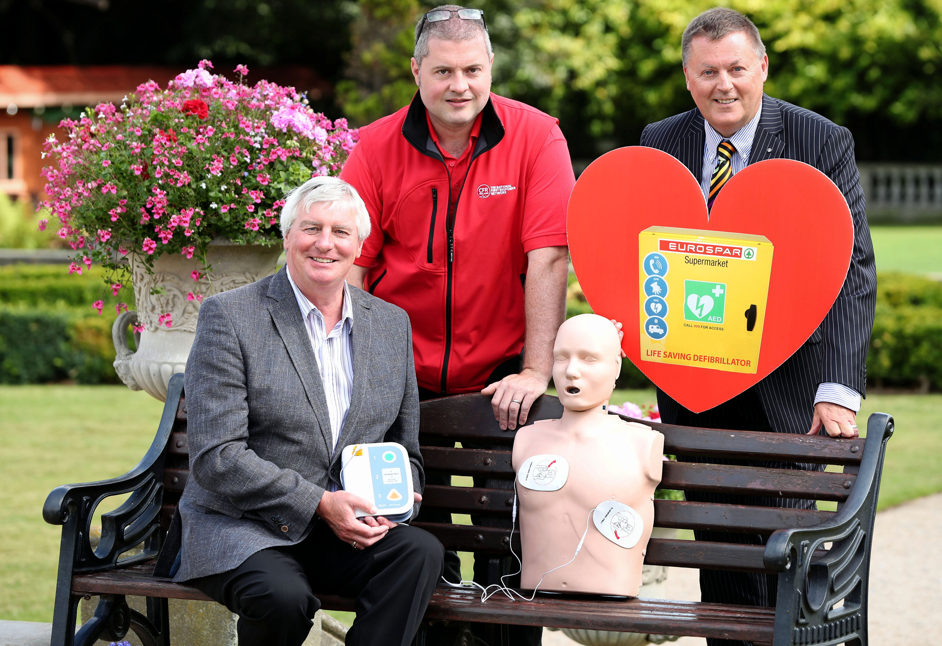 EUROSPAR Ireland defibrillator
